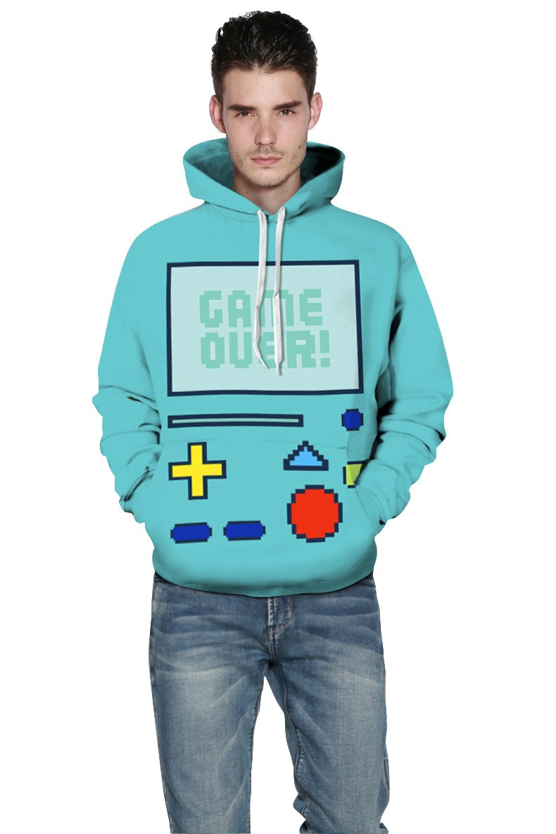 """Game Over"" Hoodie"