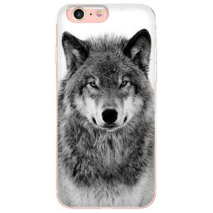 MaiYaCa wolf lovely Phone Accessories Case for Apple iPhone 8 7 6 6S Plus X 5 5S SE 5C Cellphones