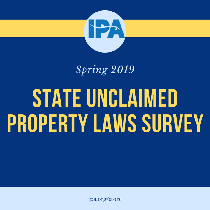 State Unclaimed Property Laws Survey