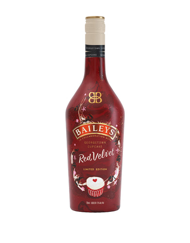 Baileys Red Velvet Irish Cream Liqueur, In Collaboration with Georgetown Cupcake