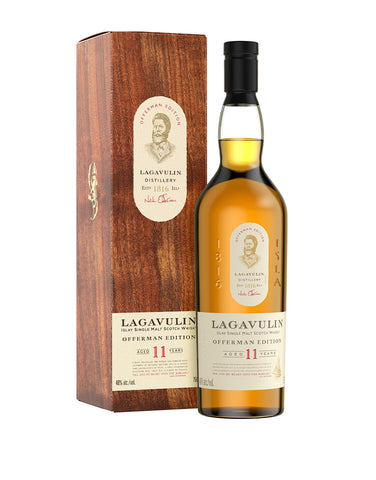 Load image into Gallery viewer, Lagavulin Offerman Edition 11 Year Old Islay Single Malt Scotch Whisky
