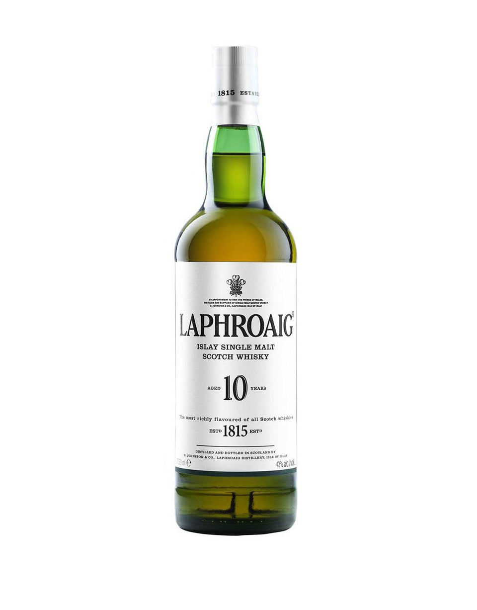 Load image into Gallery viewer, Laphroaig® 10 Years Old Single Malt Scotch Whisky bottle