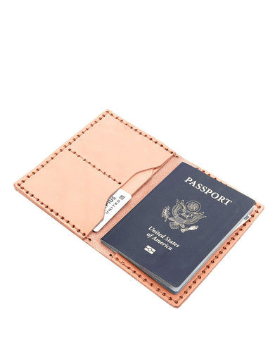 Billykirk No. 153 Passport Wallet (Natural)
