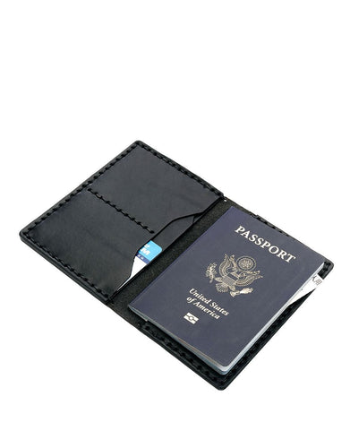 Billykirk No. 153 Passport Wallet (Black)