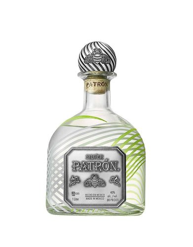 2018 Limited-Edition Holiday Patrón Silver 1-Liter