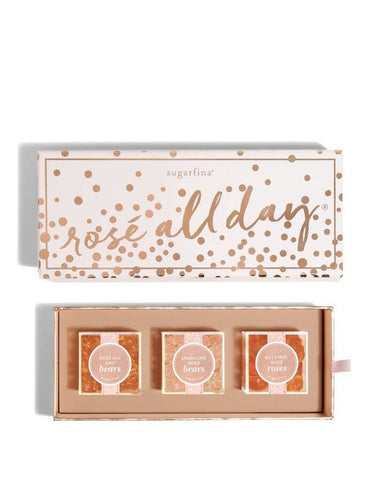 Sugarfina Rosé All Day 3pc Candy Bento Box