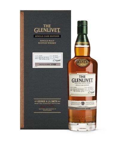 The Glenlivet Single Cask Edition 1st Fill American Oak Barrel #34306