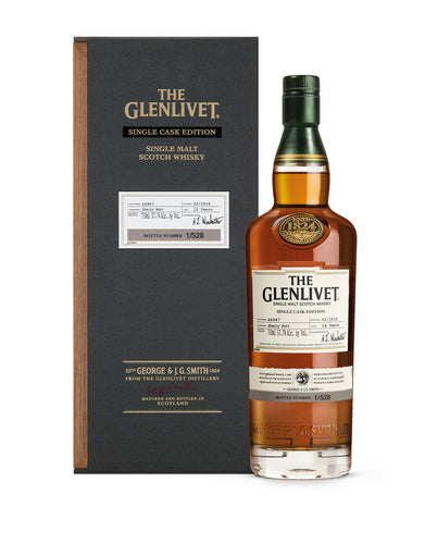 The Glenlivet Single Cask Edition 2nd Fill Sherry Butt #46967