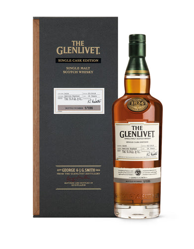The Glenlivet Single Cask Edition 2nd Fill American Hogshead #5434