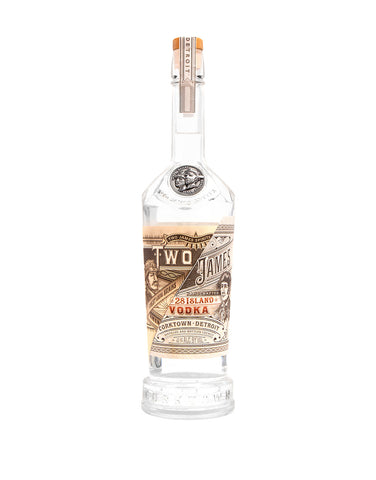 Two James 28 Island Vodka
