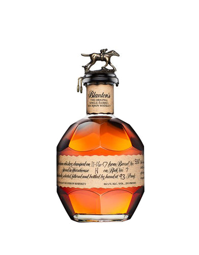 Blanton's Original Single Barrel Bourbon Whiskey bottle