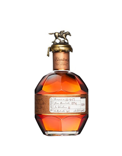Blanton's Straight From the Barrel Single Barrel Bourbon Whiskey bottle