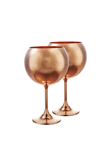 Load image into Gallery viewer, Elyx Copper Balloon Cup Gift Set
