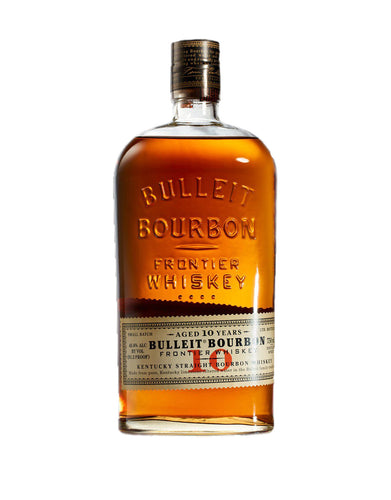 Bulleit Bourbon 10 Year Old whiskey bottle