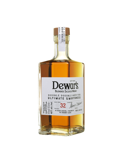 Dewar's Double Double 32 Year Old Blended Scotch Whisky bottle