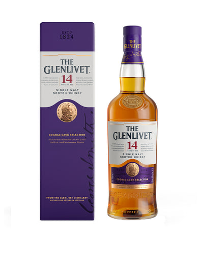 The Glenlivet Single Malt Scotch Whisky 14 Year Old