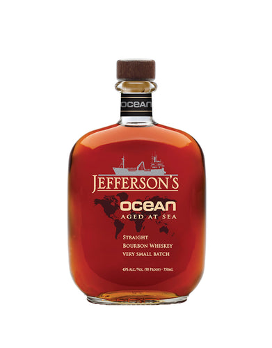 Jefferson's Ocean: Aged at Sea Bourbon Whiskey bottle