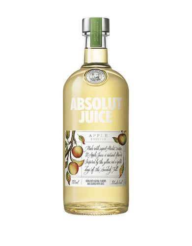 Absolut Juice Apple Edition bottle