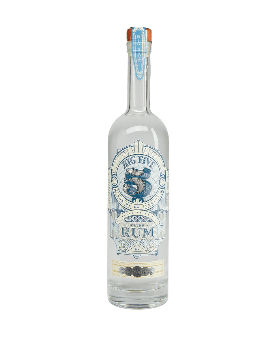 Load image into Gallery viewer, Big Five Rum Silver Rum