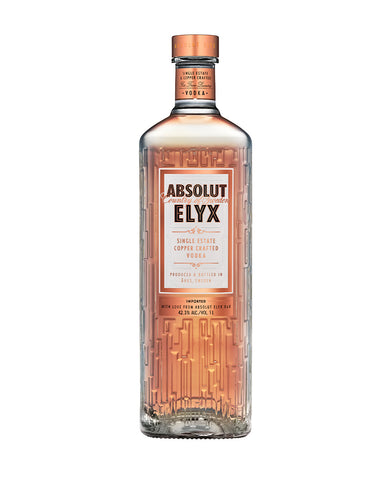 Absolut Elyx - Single Estate Handcrafted Vodka (1L)