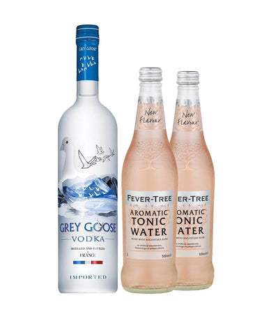 GREY GOOSE® Vodka with Two Fever-Tree Aromatic Tonic Waters