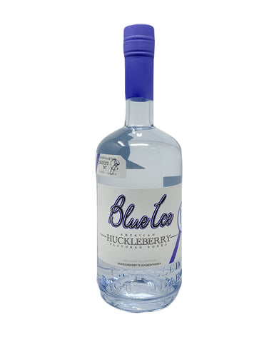 Blue Ice Huckleberry Flavored Vodka