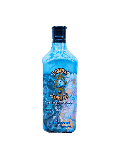 Bombay Sapphire Hebru Brantley Limited Edition Bottle