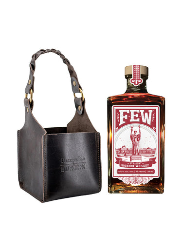 Few Bourbon with Billykirk Square Leather Bottle Holder
