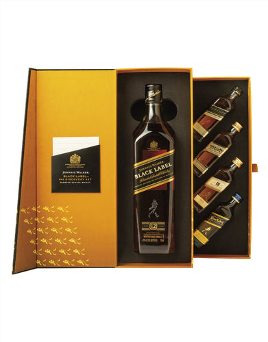 Johnnie Walker Black Label Plus Discovery Set