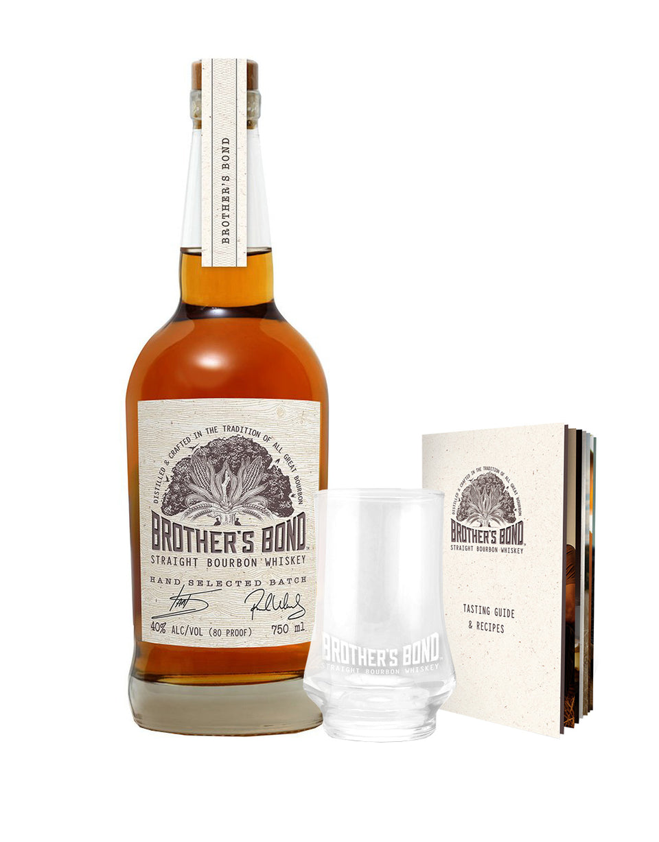 Load image into Gallery viewer, Brother's Bond Straight Bourbon Whiskey & Tasting Kit