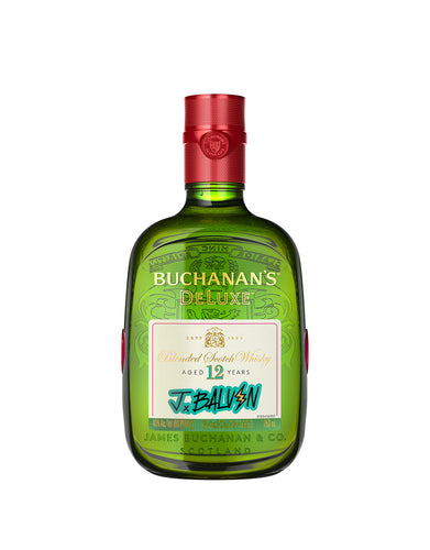 Buchanan's DeLuxe Aged 12 Years Limited Edition J Balvin Pack
