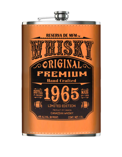 Casa Maestri Flask Canadian Whisky (1.75L)