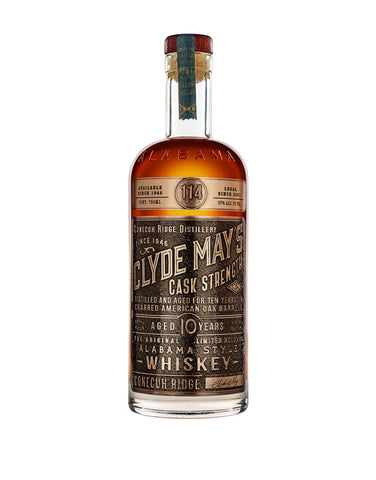 Clyde May's Cask Strength Alabama Style Whiskey