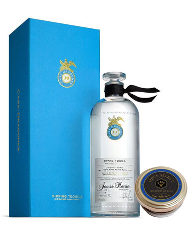 Tequila Casa Dragones Joven Personalized with Opus Select Premium Caviar (2oz)