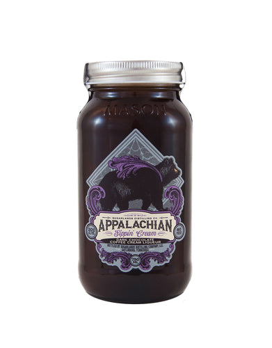 Sugarlands Dark Chocolate Coffee Appalachian Sippin' Cream