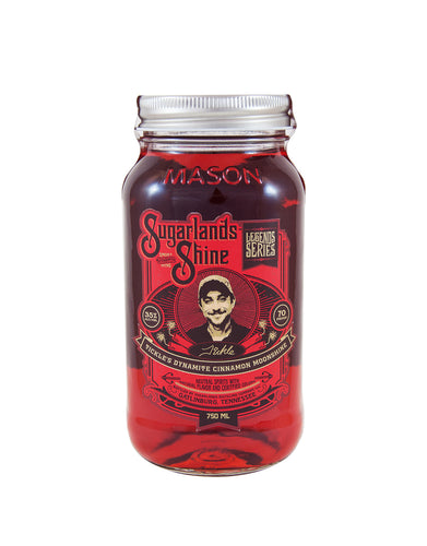 Sugarlands Tickle's Dynamite Cinnamon Moonshine