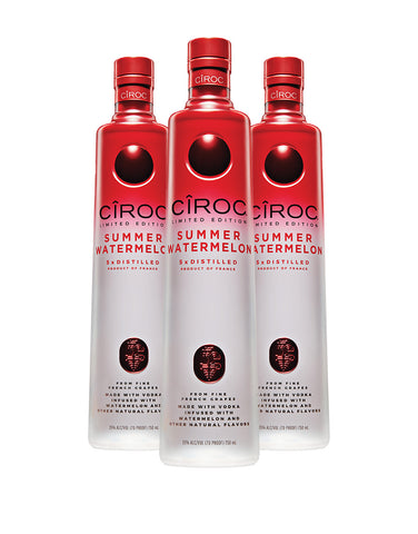 CÎROC Summer Watermelon Limited Edition (3 Bottles)