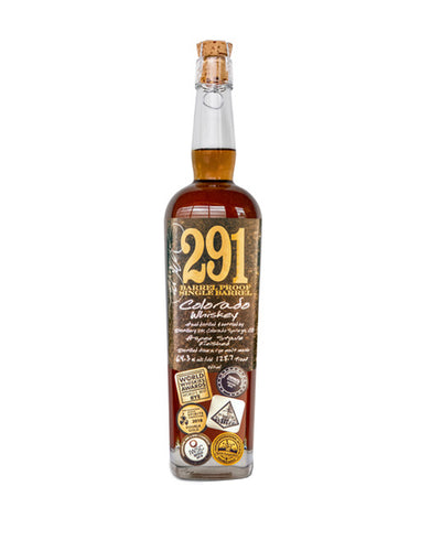 291 Colorado Whiskey, Finished with Aspen Wood Staves, Barrel Proof, Single Barrel