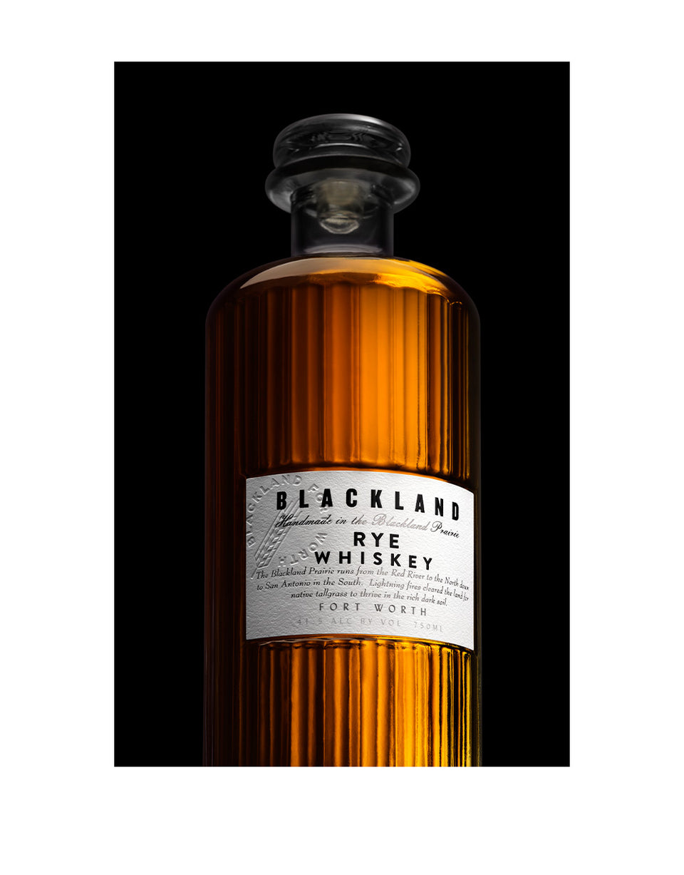 Load image into Gallery viewer, Blackland Rye Whiskey bottle
