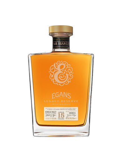 Egan's Legacy Reserve Irish Whiskey