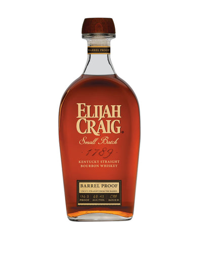 Elijah Craig Barrel Proof Bourbon bottle