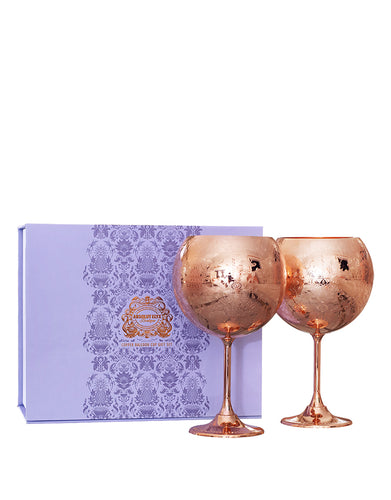 Elyx Copper Balloon Cup Gift Set