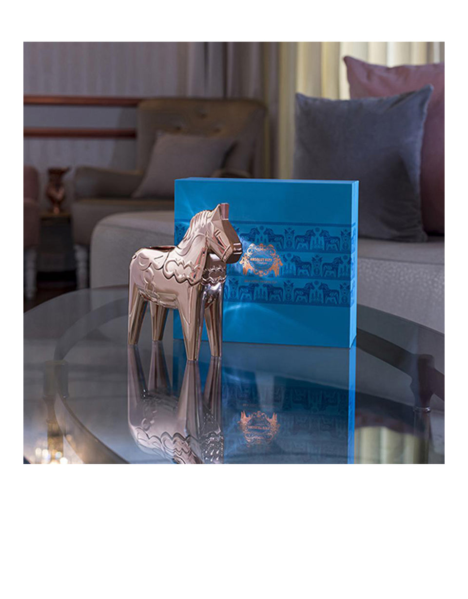 Load image into Gallery viewer, Elyx Copper Dala Horse Gift Box