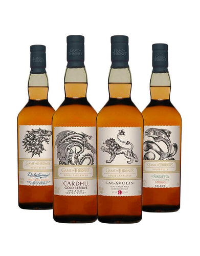 Game of Thrones Single Malt Collection (4 Bottles)