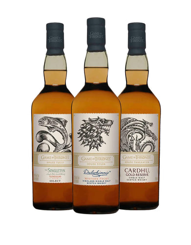 Game of Thrones Single Malt Collection (3 Bottles)