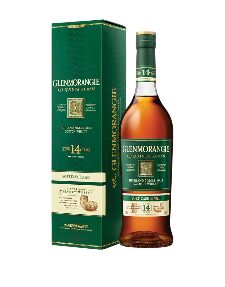Load image into Gallery viewer, Glenmorangie Quinta Ruban 14 Year Old Single Malt Scotch Whisky bottle and box