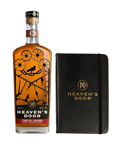 Heaven's Door Tennessee Straight Bourbon with Branded Journal