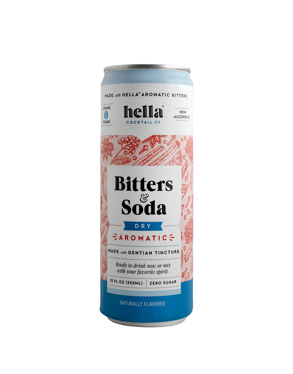 Load image into Gallery viewer, Hella Cocktail Bitters & Soda Dry Aromatic can