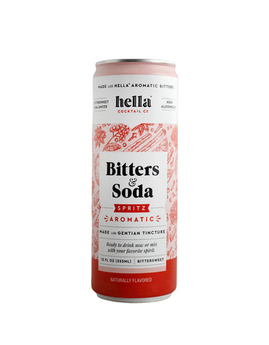Hella Cocktail Bitters & Soda Spritz Aromatic can