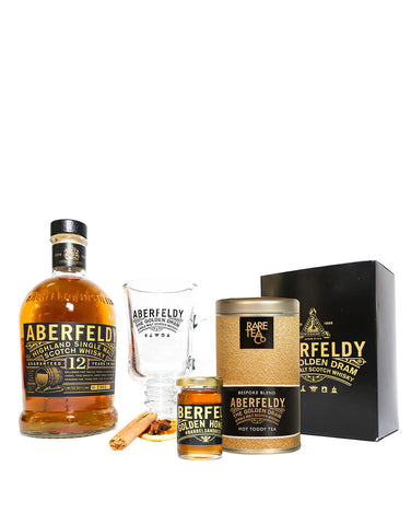 Aberfeldy 12-Year-Old Scotch Whisky DIY Hot Toddy Kit